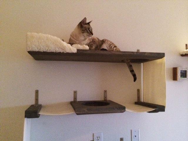 Полка для кошки